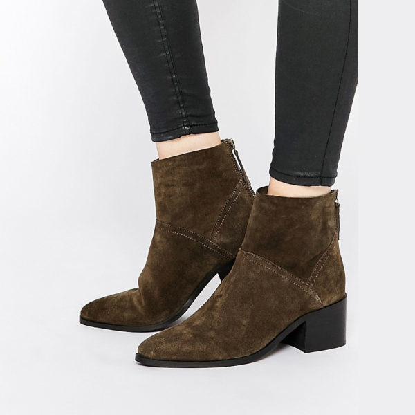 RECKON Suede Ankle Boots