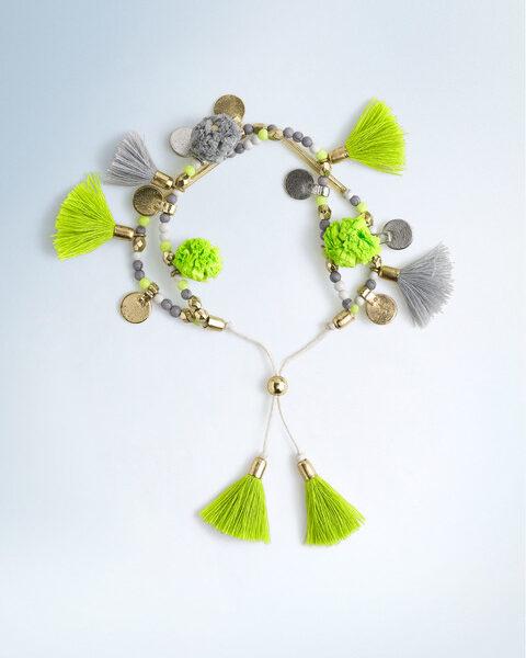 Boden Tassel Bracelet