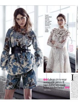 H&M Conscious Exclusive Collection Lucy Felton