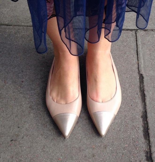 Lucy Felton at London Fashion Week