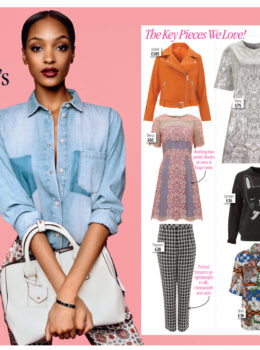 Jourdan Dunn's Topshop Collection