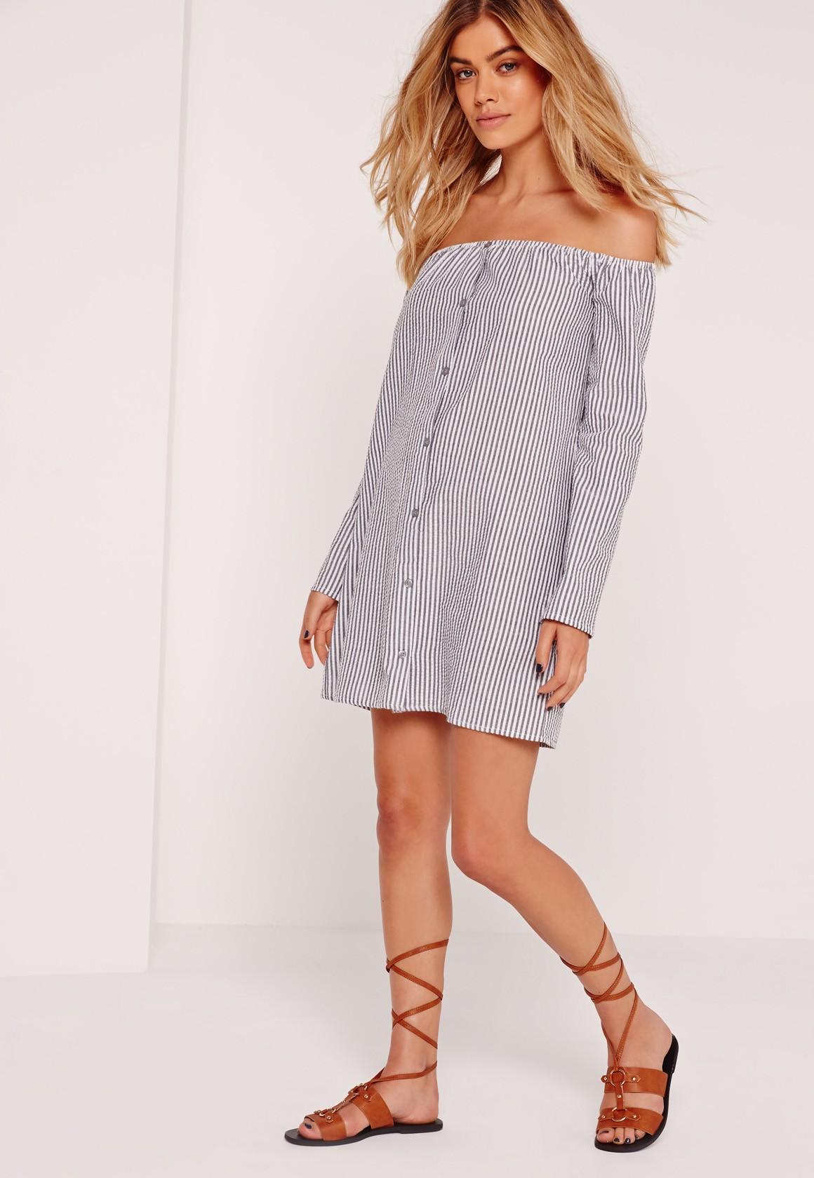 Miss Guided Bardot Dress