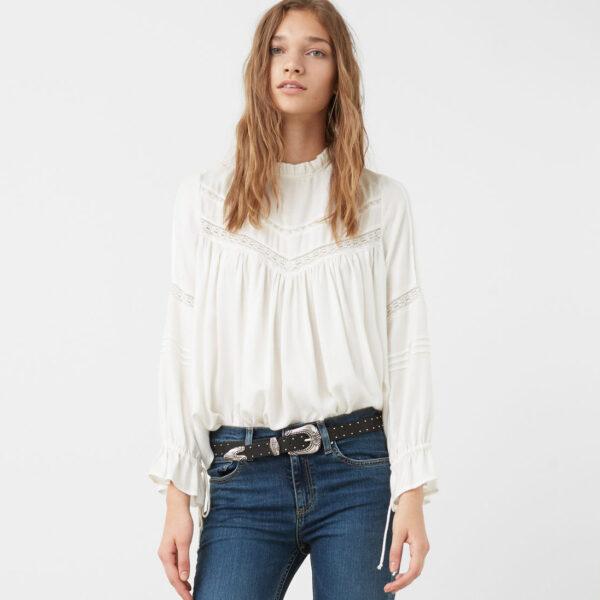 Mango Victoriana blouse