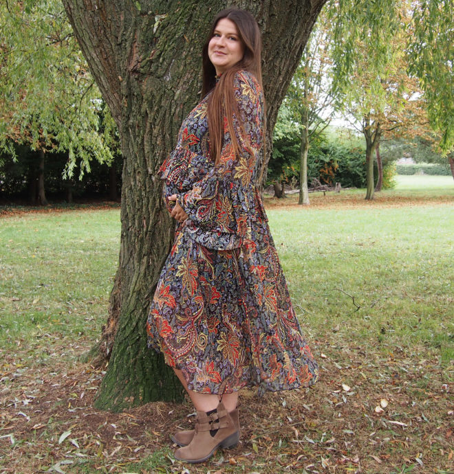 Lucy Felton The Lucy Edit Autumn Dress