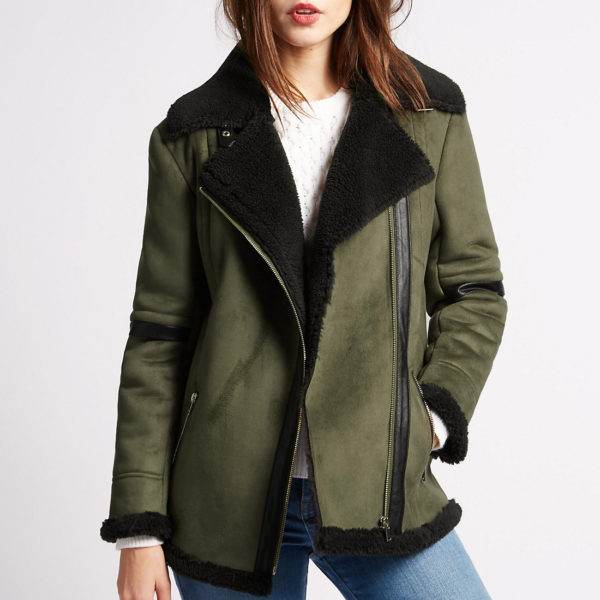 Sheepskin Aviator Coat