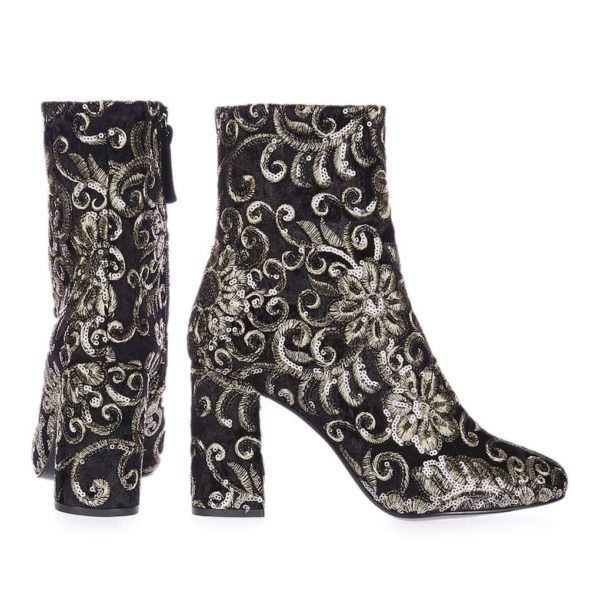 Topshop sequin boots
