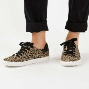 Topshop leopard trainers