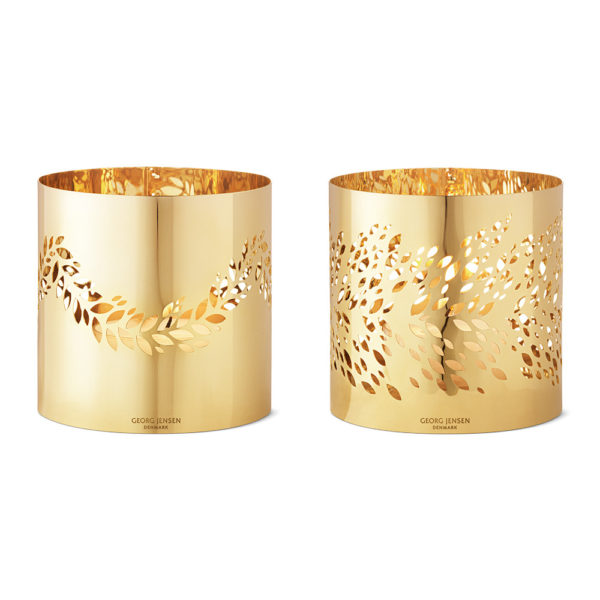 magnolia-leaf-tealight-holder-gold