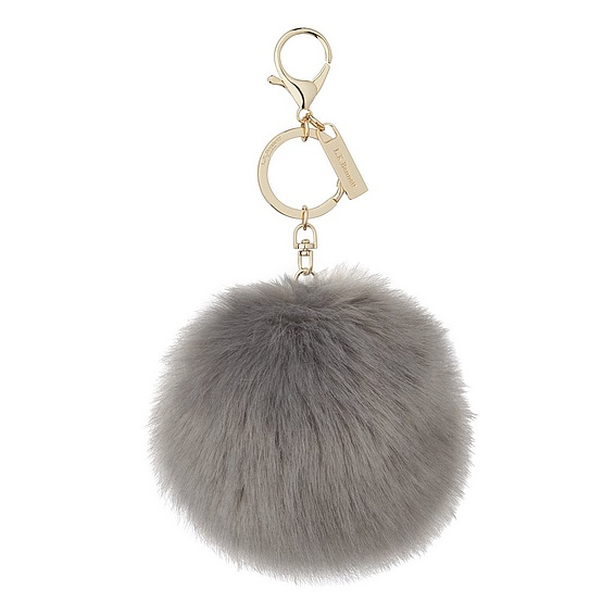 Faux Fur Pom Pom Key Chain