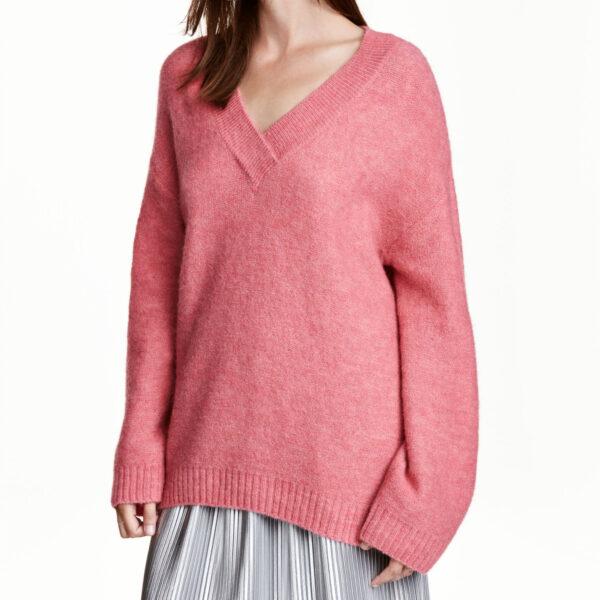 hm pink jumper