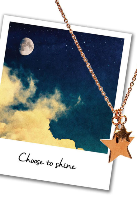 Mantra Jewellery Stars Necklace