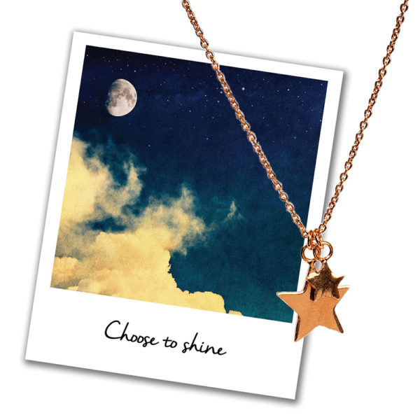 Mantra Jewellery Stars Necklace