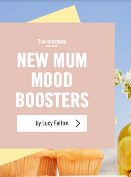 New Mum Mood Boosters Primark