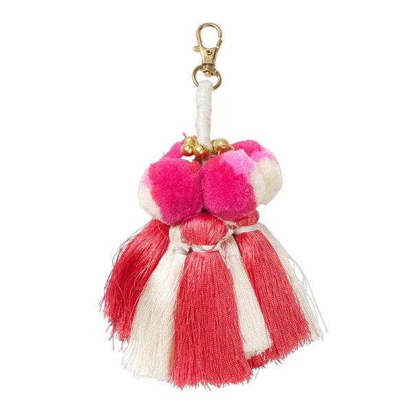 Hush Tassel Bag Charm