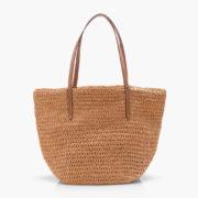 J Crew Straw Bag