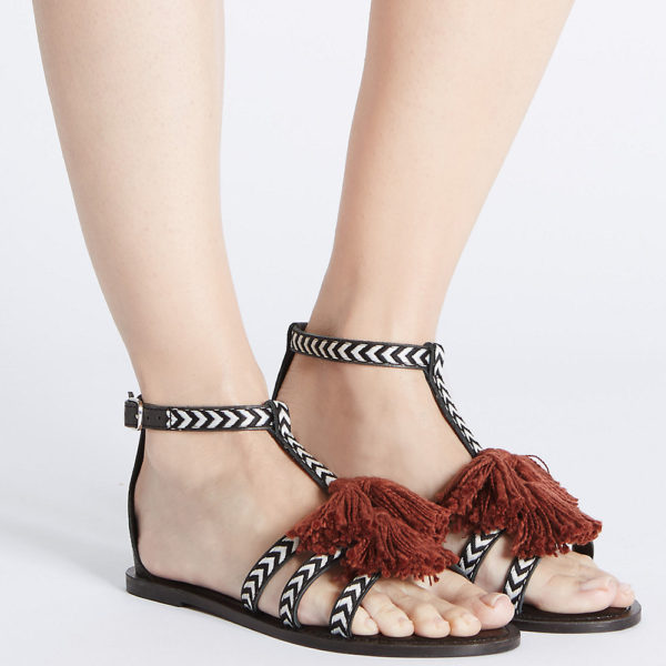 Marks and Spencer Tassel Sandals