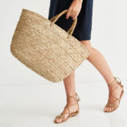 The White Company Straw Bag