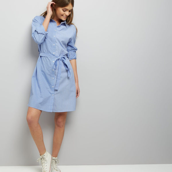New Look Stripe Shirt Dress