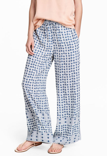 H&M wide trouser