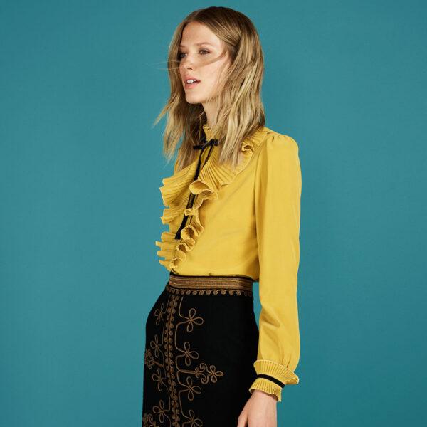 Victoriana blouse
