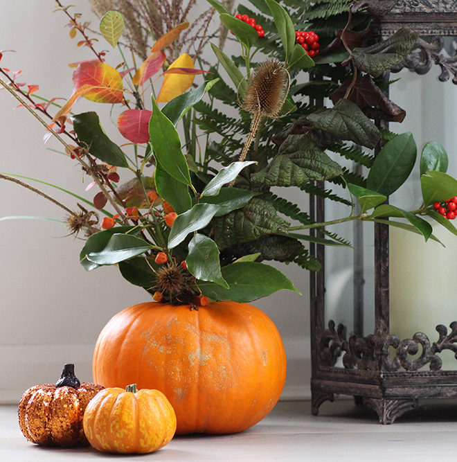 Floral Pumpkin 1