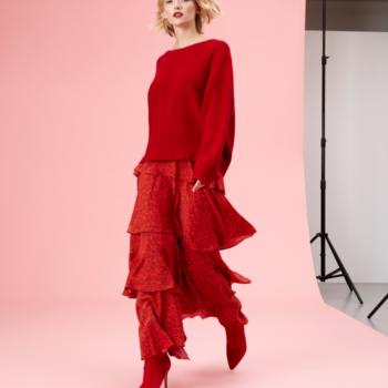 Olivia Rubin AW17 Maxi Red