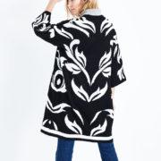 black-zebra-stripe-kimono-cardigan