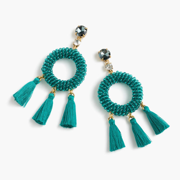 J Crew Tassel Earrings