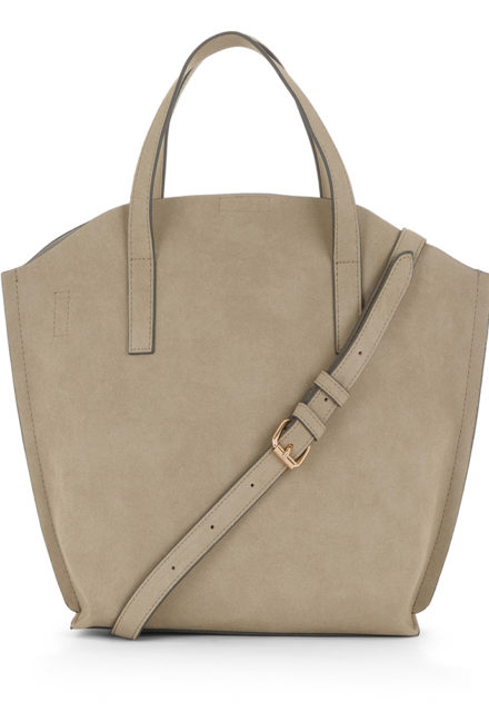 warehouse curved top tote