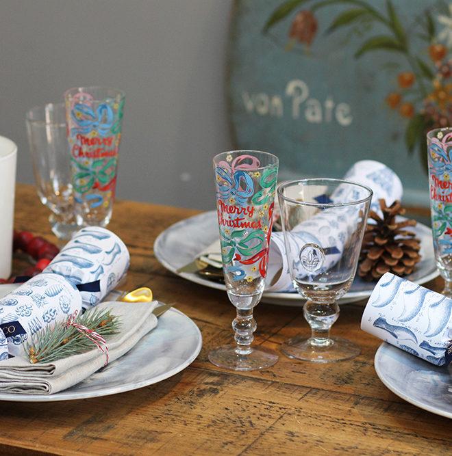 Christmas table setting1