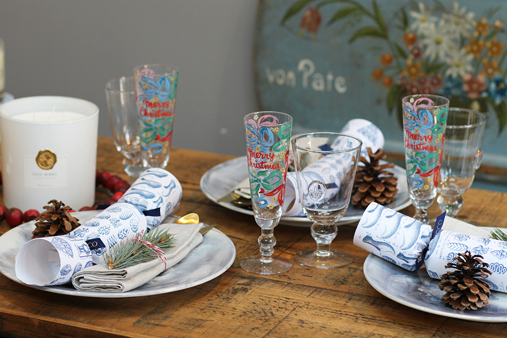 Christmas table setting1