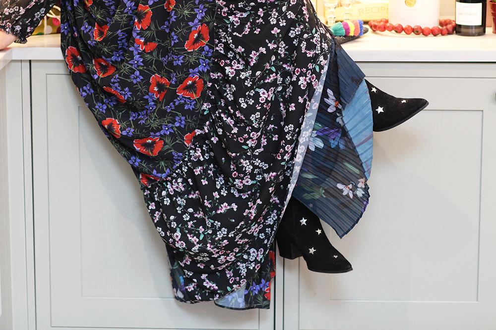 Floral maxi dress3