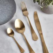 Cox Cox gold cutlery
