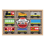 Melissa and Doug Train Cars