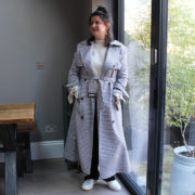Gingham Trench2