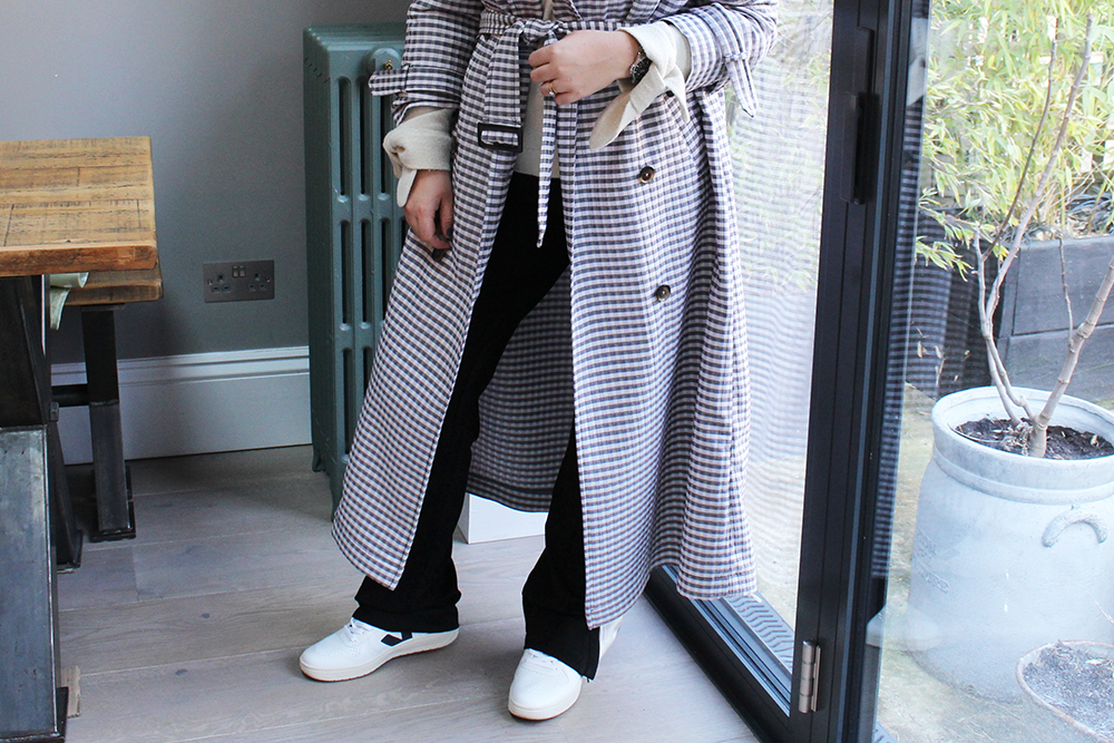 Gingham Trench5