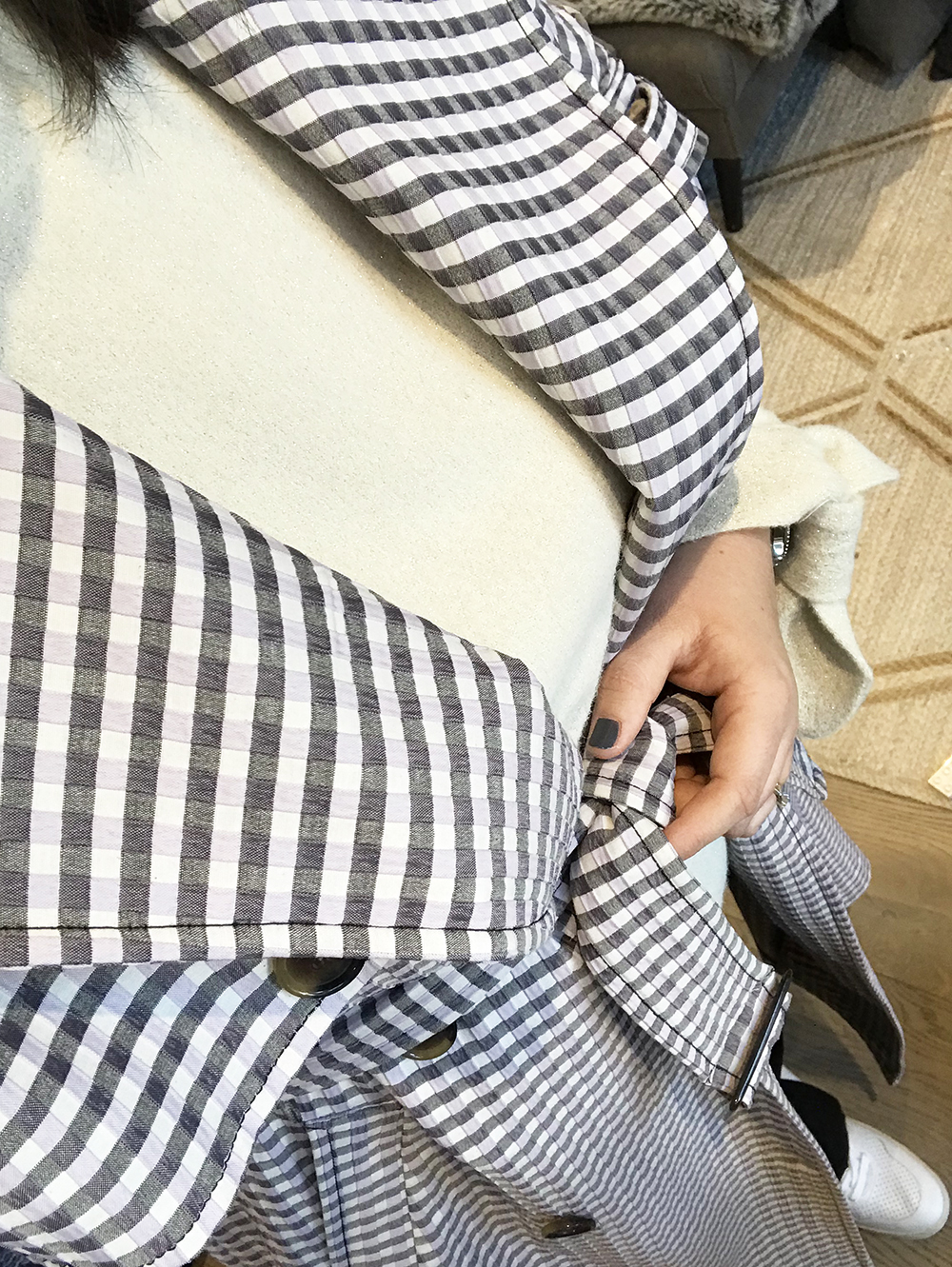 Gingham Trench8