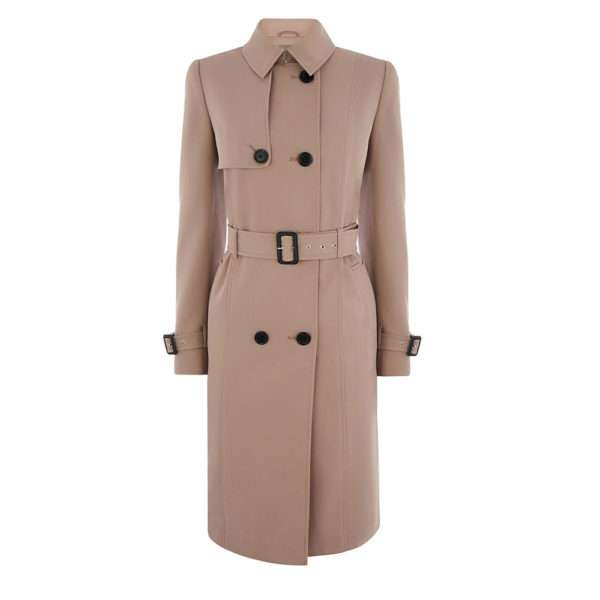 Oasis camel Martini trench coat