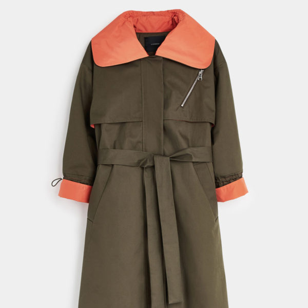 Uterque two tone trench