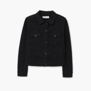 Mango Black Denim Jacket