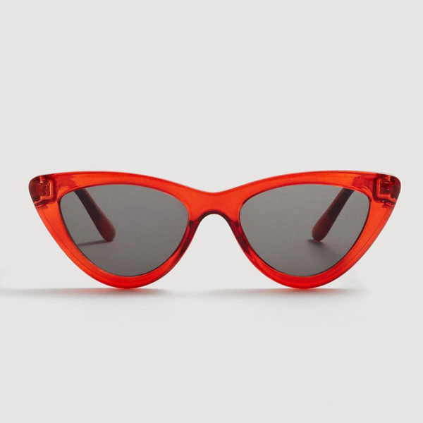 Mango red cat eye sunglasses