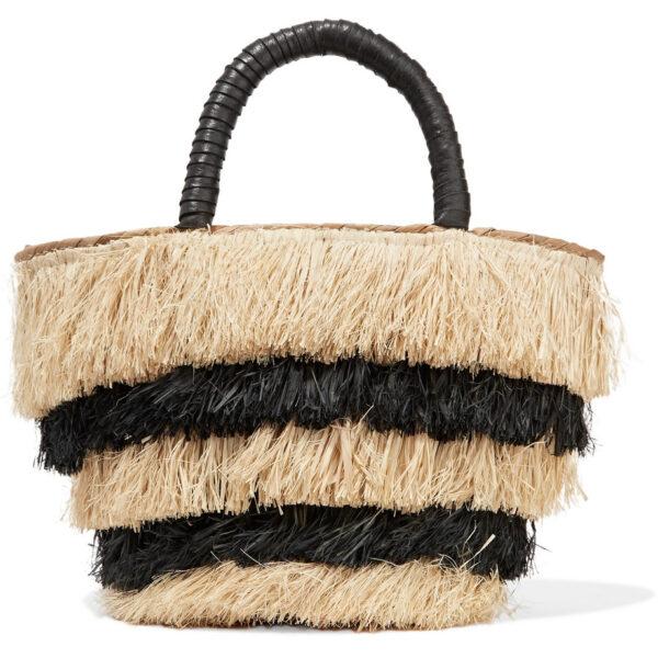 Kayu Straw Tote Bag
