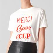 Merci Beau Coup Logo Tee