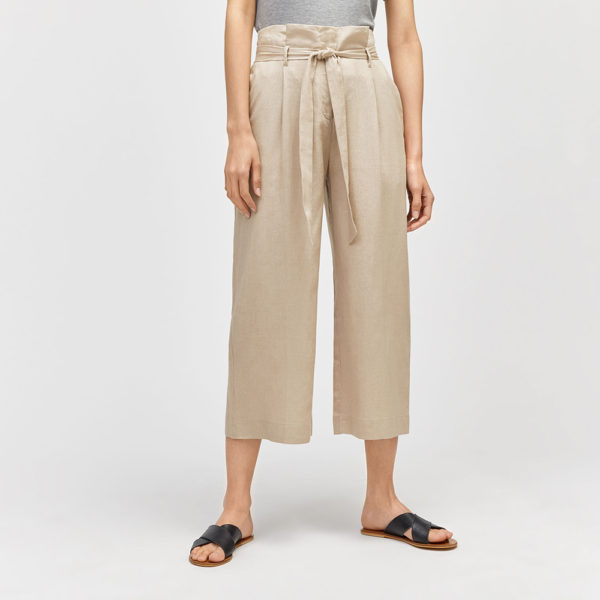warehouse linen culottes