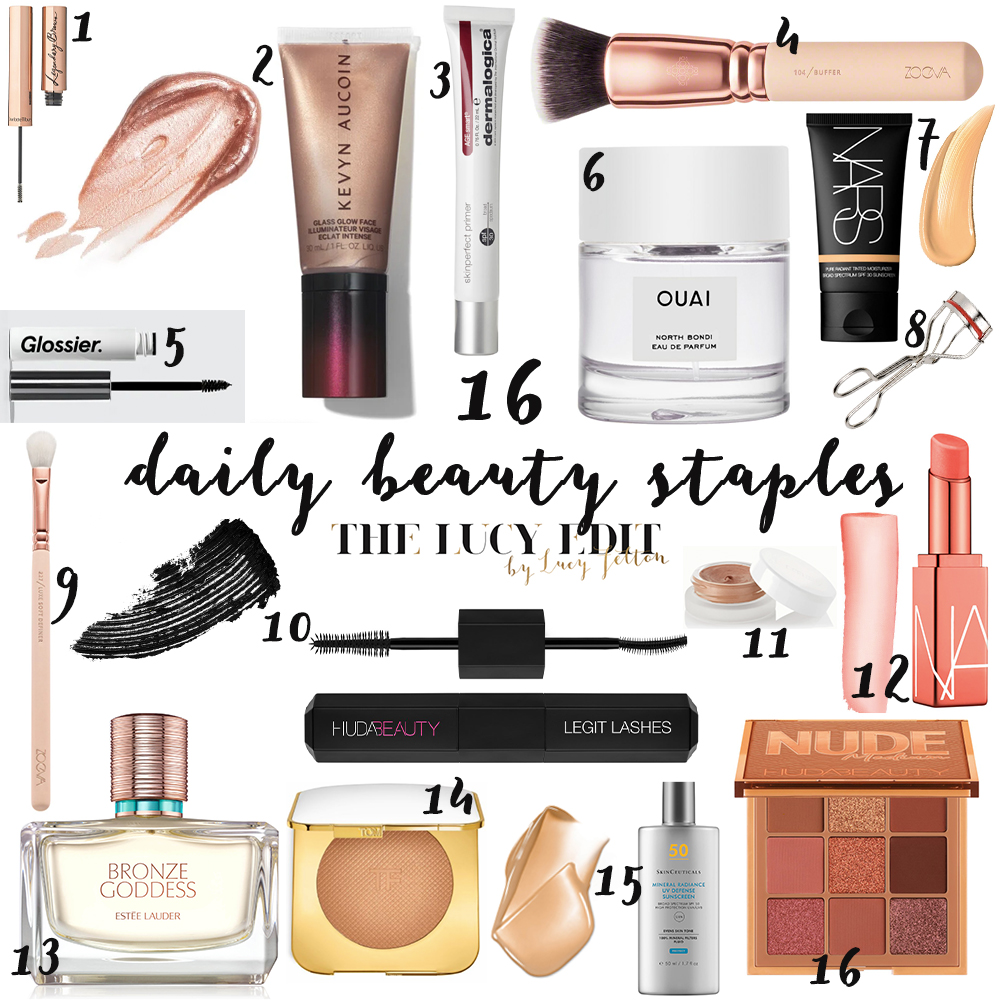 daily beauty staples