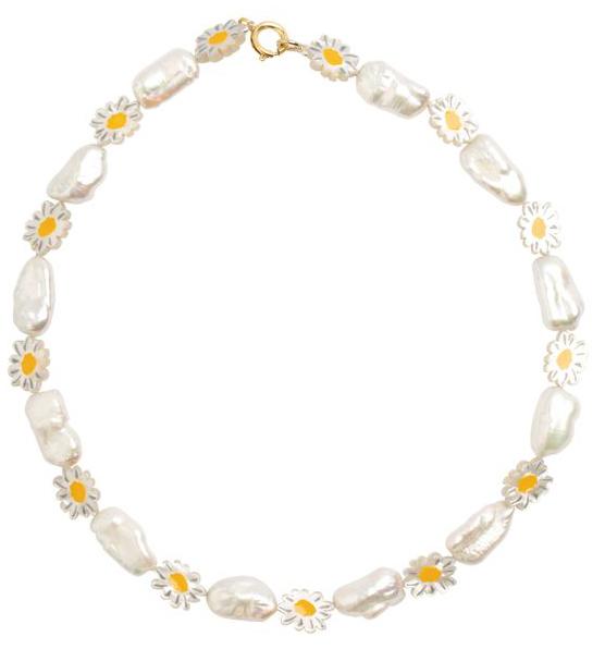 Wald Berlin daisy necklace