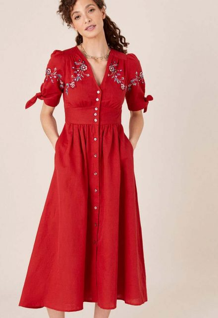 Monsoon western dress