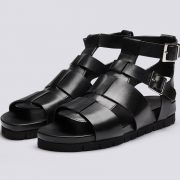 chunky leather strap gladiator grenson lottie sandals