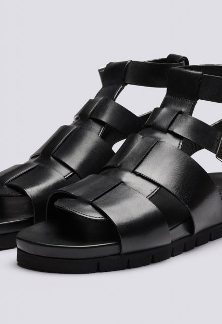 chunky leather strap gladiator grenson lottie sandals